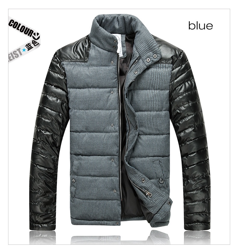 Men-Slim-Designed-PU-Short-Jacket-Coat-07