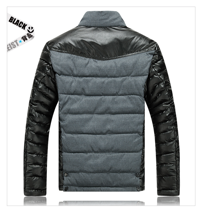 Men-Slim-Designed-PU-Short-Jacket-Coat-09