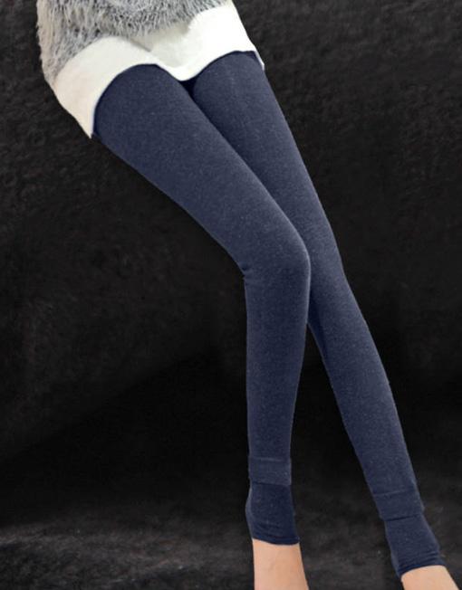 Women's Skinny Slim Warm Winter Legging Tights Velvet Trousers