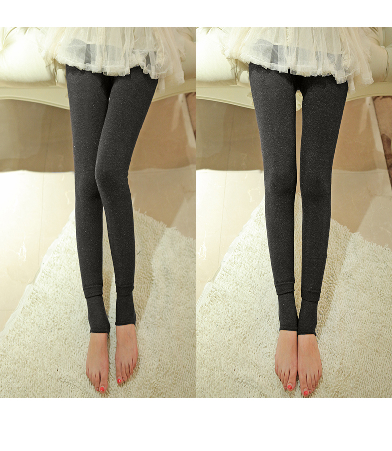 a760f06edc6a8 Women s Skinny Slim Warm Winter Legging Tights Velvet Trousers ...