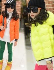 Kids-Unisex-Colorful-Down-Winter-Jacket-