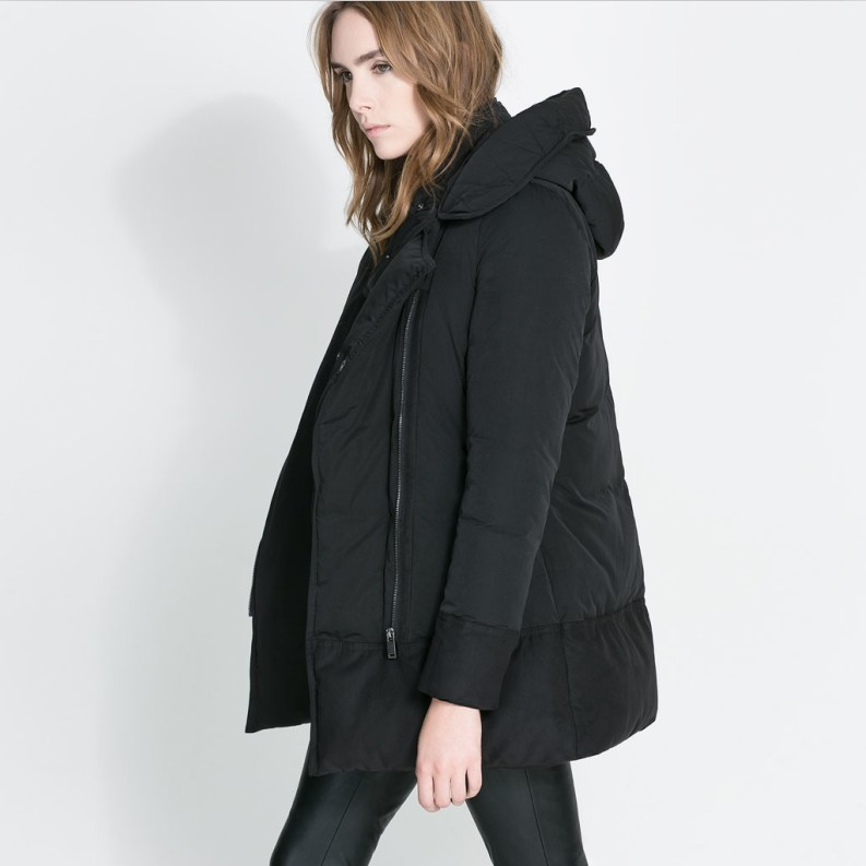 Women Hooded Cotton Padded Winter Coat Winter Jacket Winter Clothes