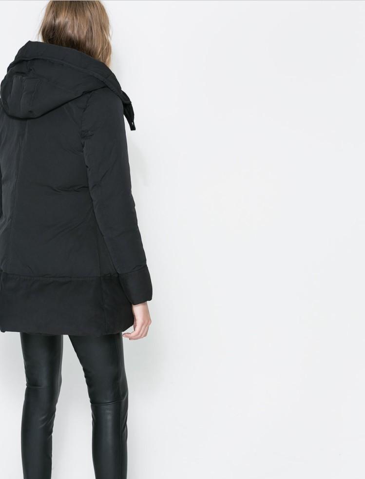 Hooded winter coats for women
