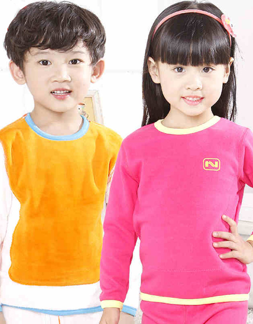 Children Extra Warm Cotton Base Layer Long John