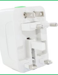 Universal International Travel AC Adapter For Power Plug UK US AU EUROPE