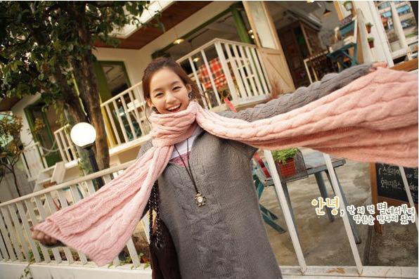 fashion-korean-winter-braided-knit-wool-long-scarf-wrap-shawl-unisex-d10