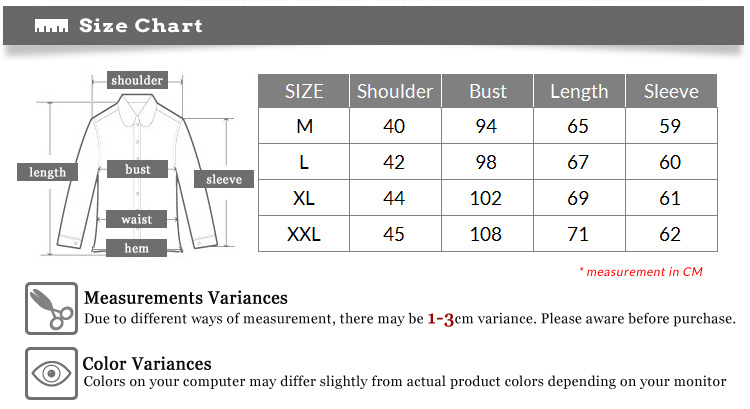 sleeve Measure from the middle of the back of your neck, over the top of your shoulder down to the point where you want your cuff to sit. If you find that your sleeve length falls between two of our sizes, choose the longer of the two.