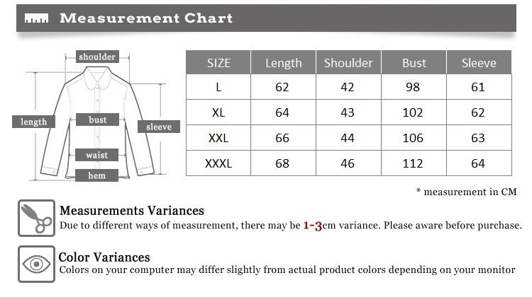 Men premium korean slim fit white duck down shirt winter for Slim fit shirt size chart