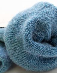Women's Casual Winter Rabbit Hair Wool Warm Thermal Socks - 5 Pairs