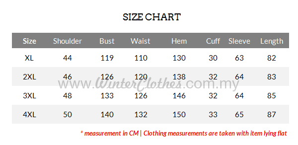 womens-plus-size-winter-long-coat-hooded-inner-cashmere-layer-winter-jacket-v2-SIZE-CHART