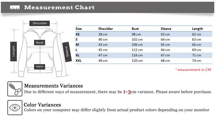 MCT028-measurement-charts