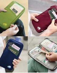 Multifunctional Pocket for Passport Air Ticket Holder