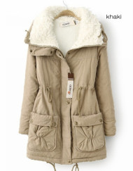 Women's Winter Plus Size Cotton Padded Jacket Coat