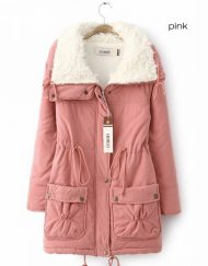 Women's Winter Plus Size Cotton Padded Jacket Coat