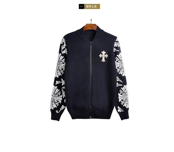 men-cross-pattern-open-front-cotton-zipper-knitwear-jacket-12