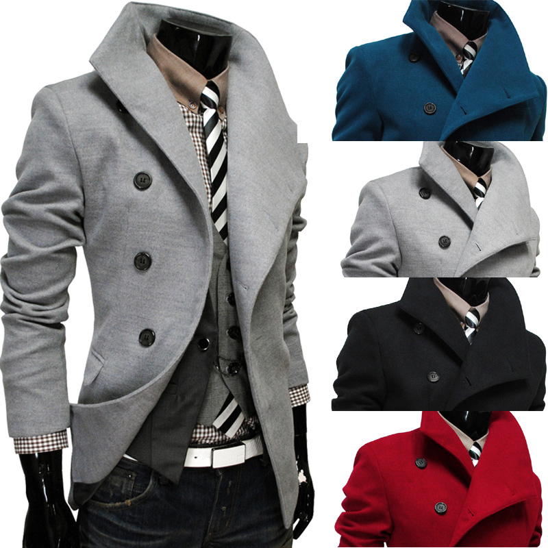 mens-futuristic-side-button-slim-fit-middle-long-woolen-trench-coat-d1