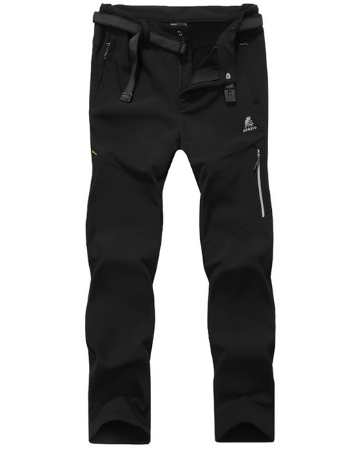 Men's Waterproof Fleece Lining Venture Trekking Hiking Pants
