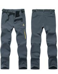 Men's Waterproof Fleece Lining Venture Trekking Hiking Pants