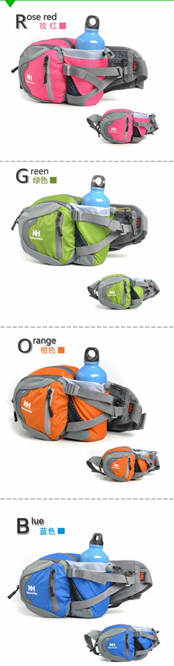 -waterproof-outdoor-sport-hiking-waist-pack-bag-colors2