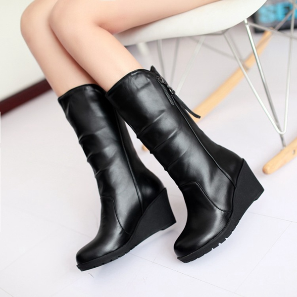 womens-pu-leather-wedge-heel-cashmere-lining-winter-boots-d4