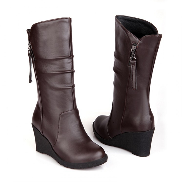 womens-pu-leather-wedge-heel-cashmere-lining-winter-boots-d5