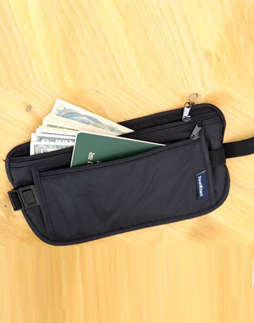 Hidden Waist Travel Bag Pocket for Passport Money Air Ticket