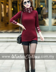 womens--slim-fit-high-neck-colorful-base-layer-sweater-04