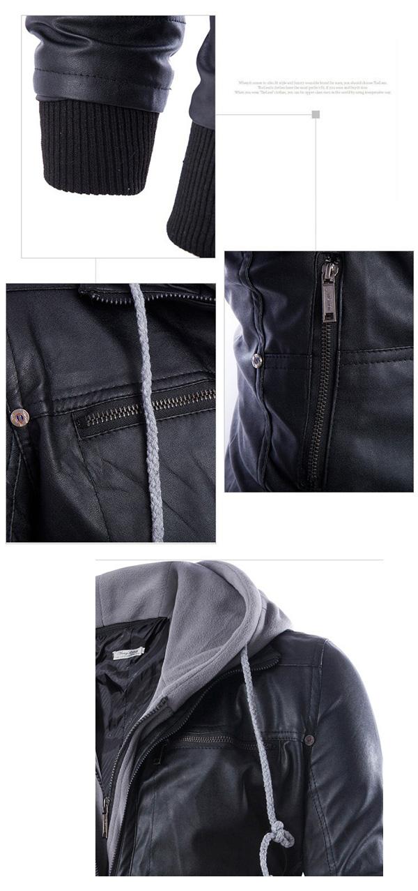 mens-pu-leather-hoodie-biker-jacket-details