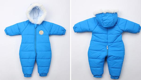 e6fe544c3918 Infant Outdoor Winter Hoodie Jumpsuit - Winter Clothes