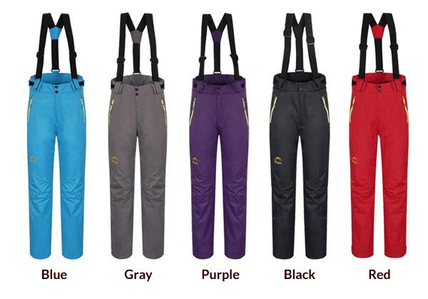 womens-waterproof-ski-pants-winter-sport-trouser-colors