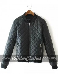 women-smart-casual-simple-pu-bomber-jacket-m2