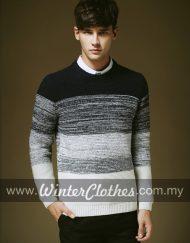 mens-winter-long-sleeve-radiant-stripe-woolen-cardigan-m1