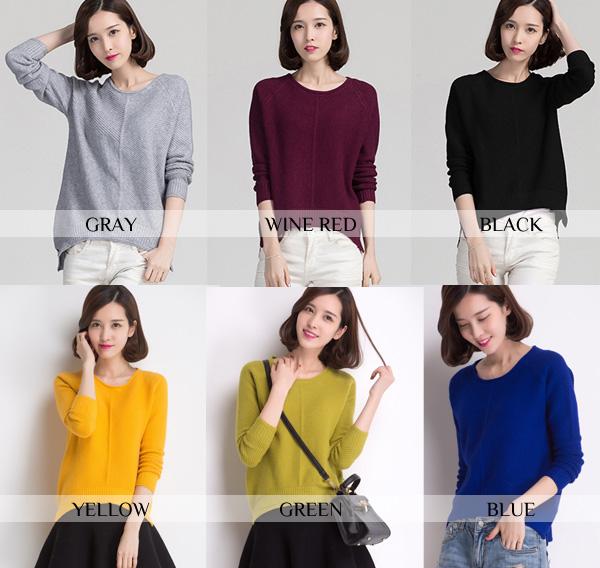 women-bat-sleeve-sweater-color