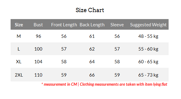 women-bat-sleeve-sweater-size-chart