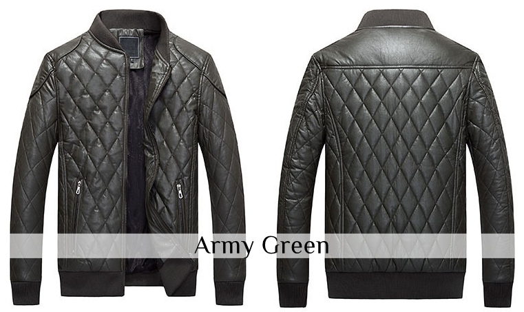 mens-pu-leather-bomber-winter-jacket-d3ArmyGreen