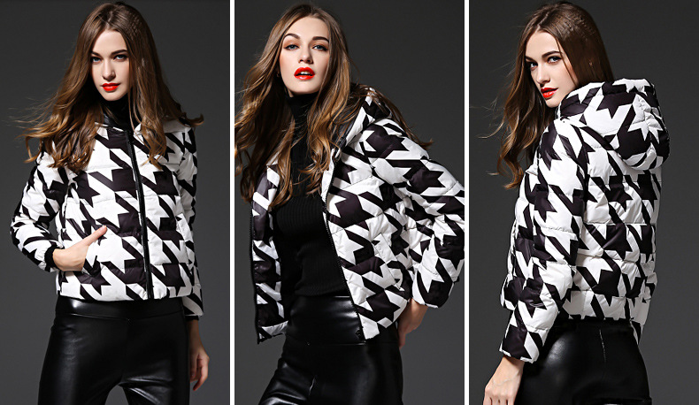 black-&-white-geometric-print-winter-down-jacket-d001
