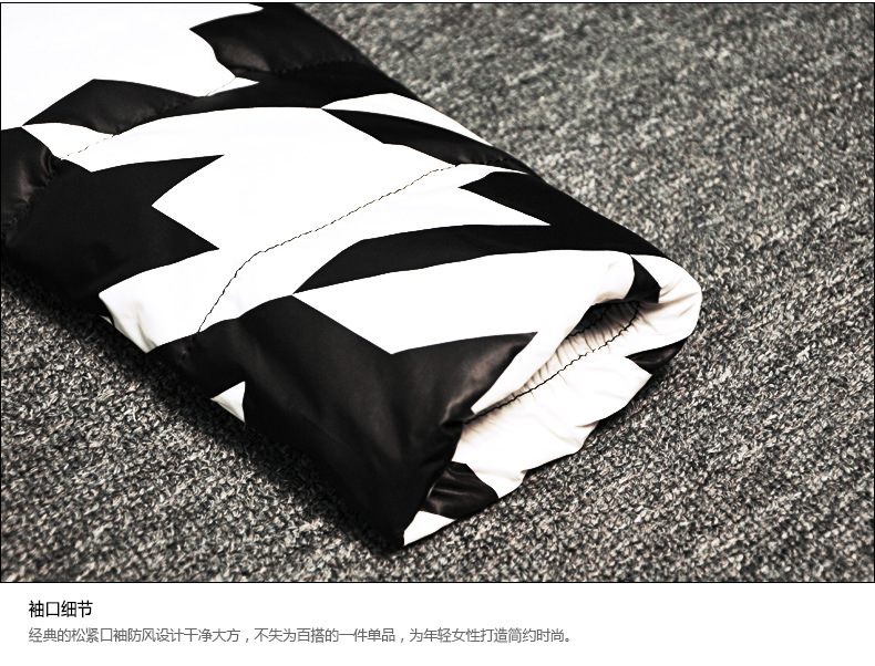 black-&-white-geometric-print-winter-down-jacket-d02