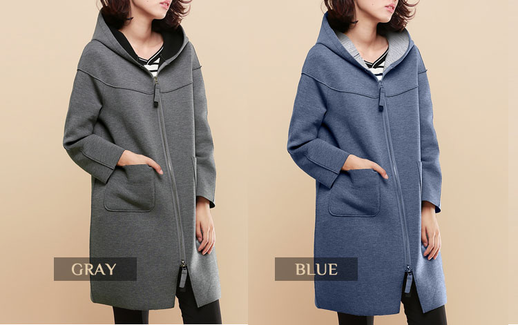 neoprene-effect-knee-length-hoodie-plus-size-coat-colors