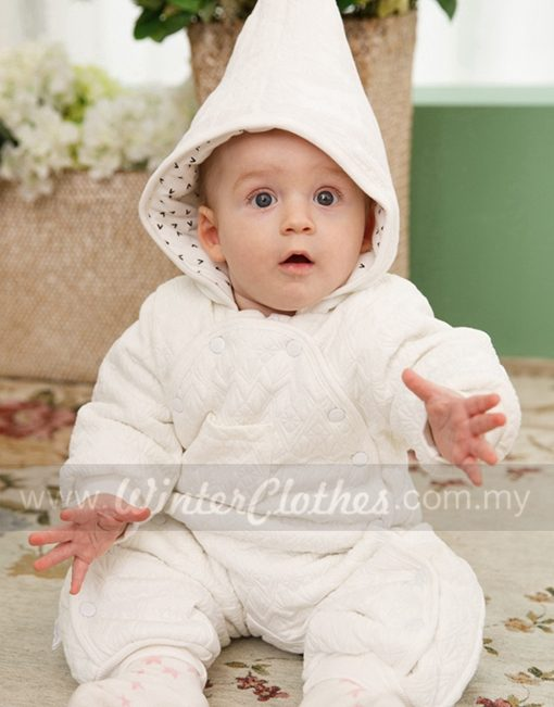 Cute Baby Winter Romper Cotton Padded Baby Winter Wear ...
