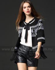 europe-style-tassel-open-front-knit-wear-jacket-A