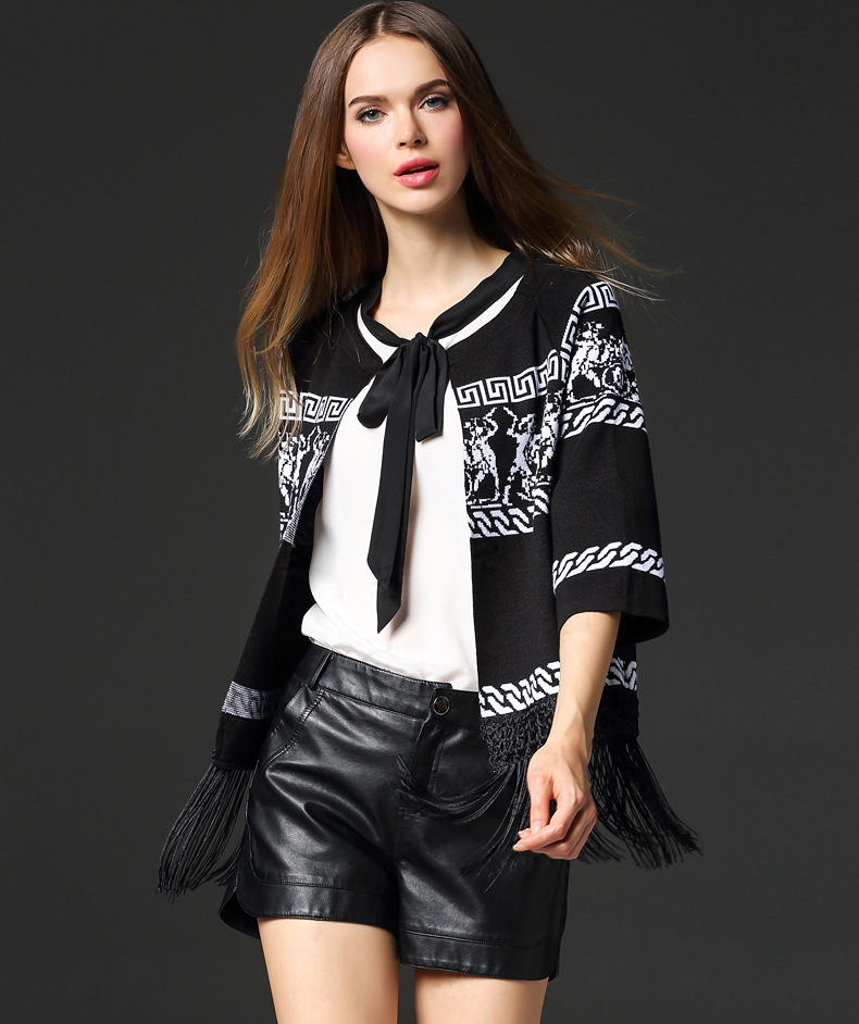 europe-style-tassel-open-front-knit-wear-jacket-G1