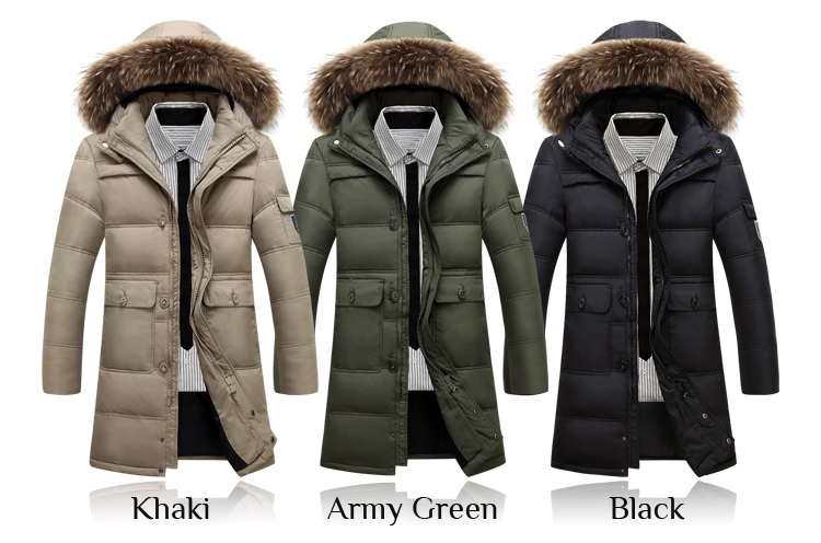Winter Long Down Jacket Cocoon Winter Coat - Winter Clothes