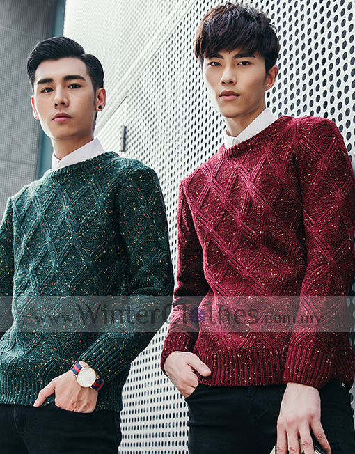 1d12d17a67bd20 Men's Knit Wear Pullover Vintage Style - Winter Clothes
