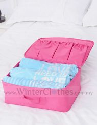 Winter Clothes Vacuum Storage Bag Easy Roll Compress Bag