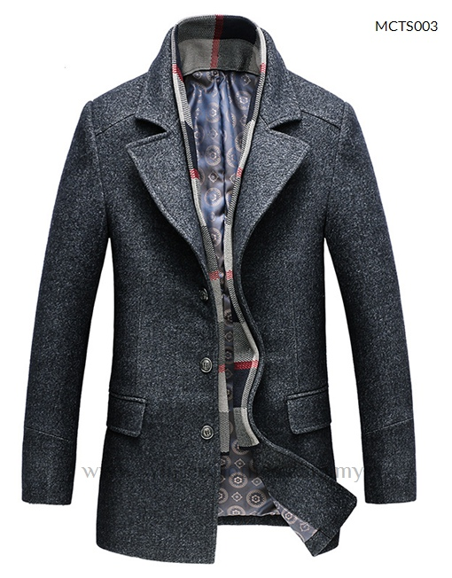 smart casual winter trench coat for men winter clothes
