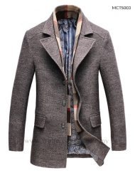 Smart Casual Winter Trench Coat for Men