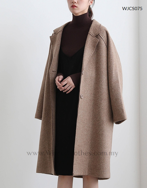 Winter Cotton Padded Long Trench Coat for Women - Winter