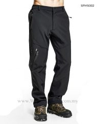 Plus Size Hiking Pants with Fleece Lining