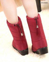 Women Winter Boot with Water Proof Fleece Lining