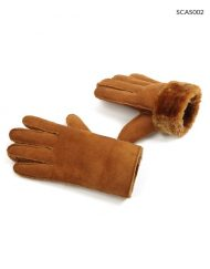 Faux Suede Winter Leather Glove